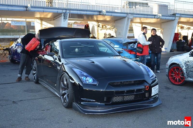 black gtr tsukuba