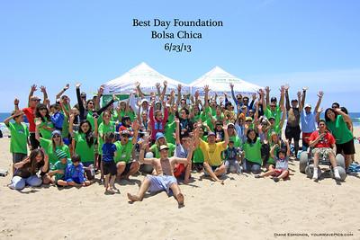 Best Day Foundation @ Bolsa Chica 6/23/13