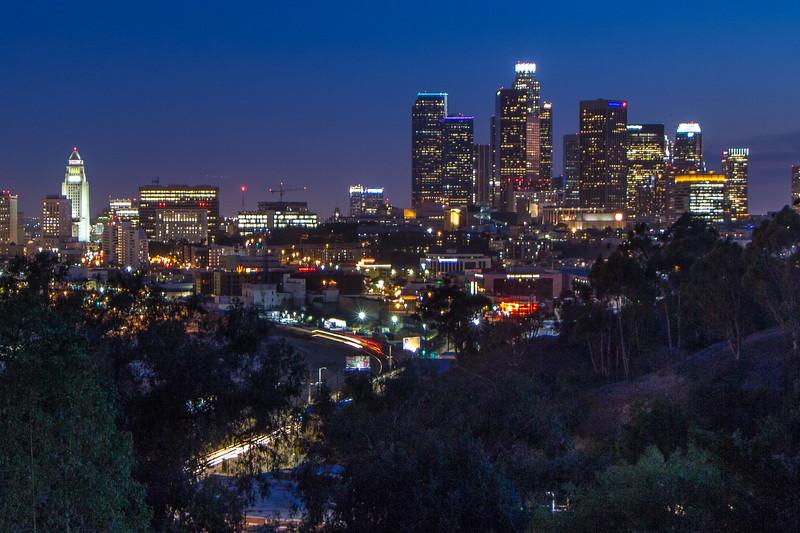 Downtown LA and Chinatown
