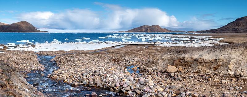 Alexandra Fjord thaw