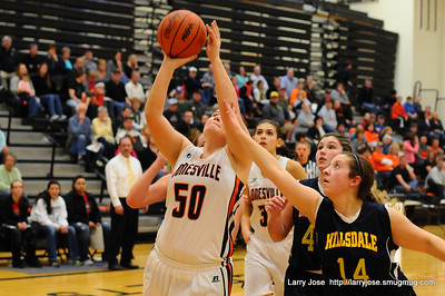 Jonesville vs Hillsdale Girls Varsity Basketball