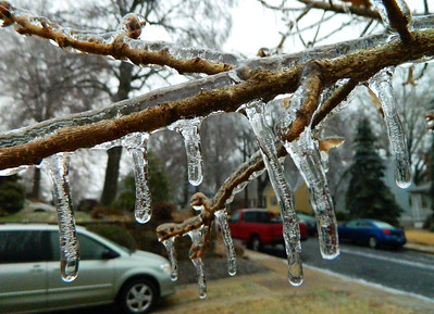 12/17/2016 Icy Day In Baltimore
