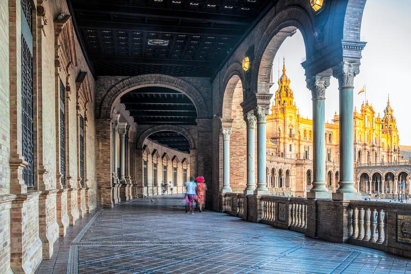 Plaza de España, Seville, Spain.