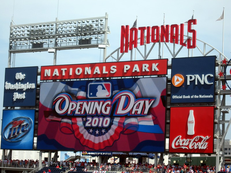 Opening Day at Nationals Park