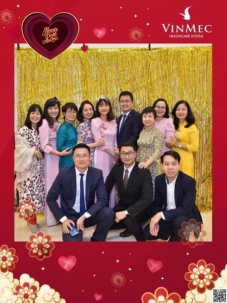 Vinmec | Year End Party 2020 instant print photo booth @ Almaz Center | Chụp hình in ảnh lấy li�n Tất niên 2020 tại Hà Nội | WefieBox Photobooth Hà Nội