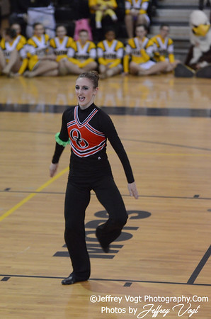 02-02-2013 MCPS Poms Championship Quince Orchard HS at Richard Montgomery HS Division 2, Photos by Jeffrey Vogt Photography