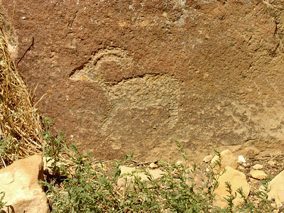 Pictographs, Nine Mile Canyon, Utah