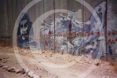 Abu Dies (Dees), West Bank and the wall