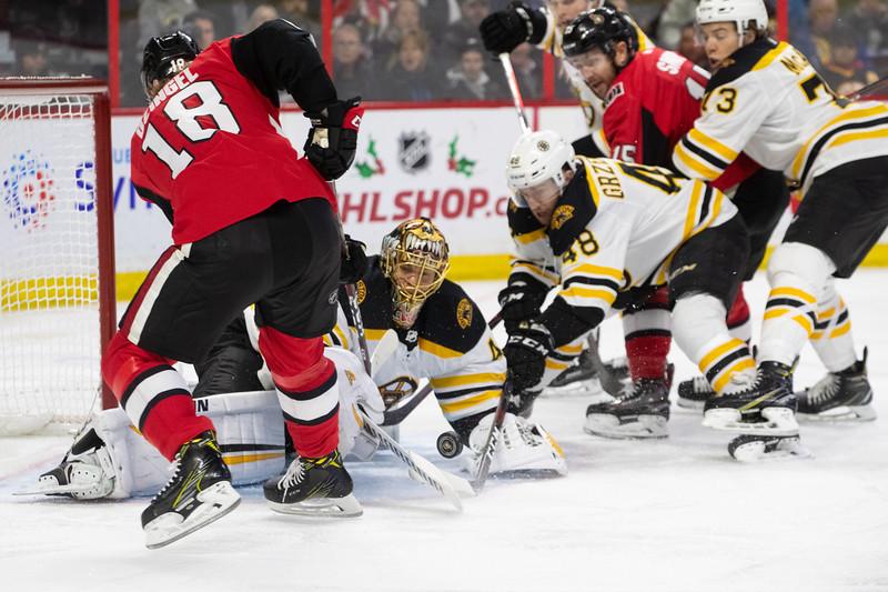 NHL 2018: Bruins vs Senators  DEC 09