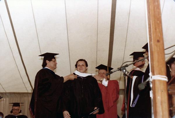 1980 05 David Landy's Curry College Graduation