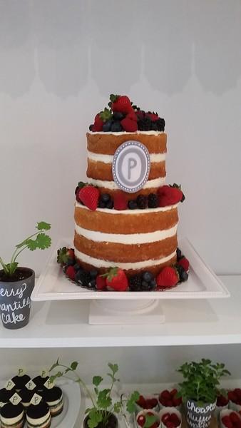 This cake by Vivia @ Bake and Beyond! YUM!
