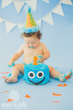Gael Cake Smash _ TOP PHOTOS