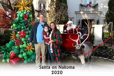 Santa on Nakoma