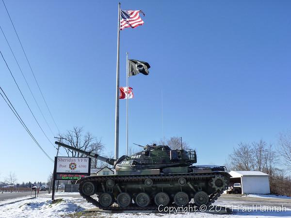 VFW Post 6390 – Sheridan, NY – M60A3