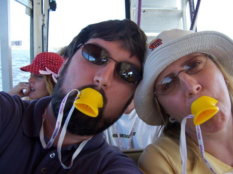 We'll quack at anyone.