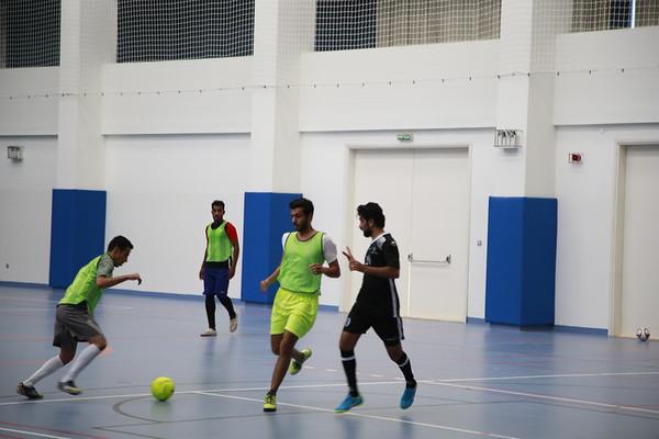 Civil Engineering Department conducting football tournament