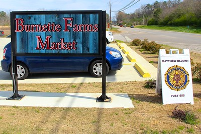 Burnette Farms Market Flag Replacement 3/10/2018