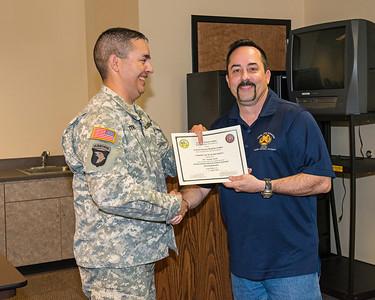 Range Safety Course, Fort Polk, 2014