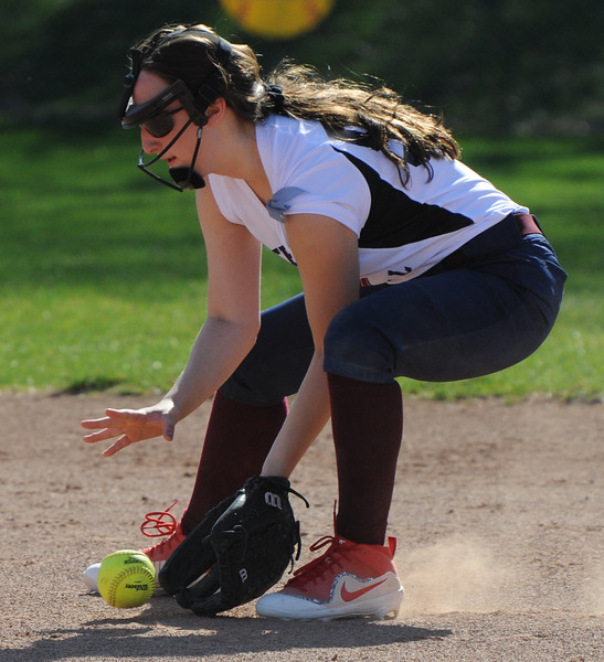 The Rochester Falcons swept a doubleheader over Berkley 10-2, 14-0 (5 innings).  The games were played on Tuesday May 1, 2018 at Rochester High School.  (Oakland Press photo by Ken Swart)