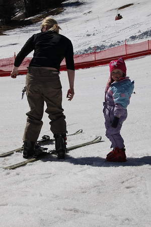 Emily's First Day Skiing