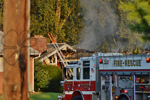 07.16.15 2nd Alarm House Fire in Manheim Township