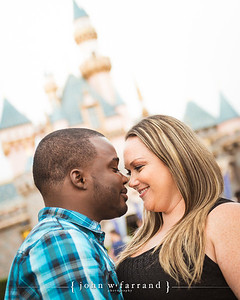 Tivon and Brandi - Disneyland