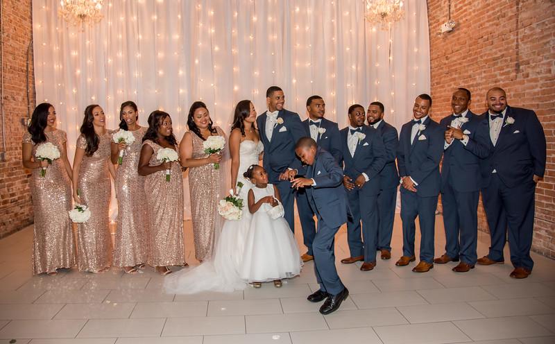 Geoffroy and Johnson Wedding