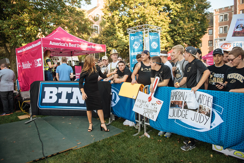 BTN Tailgate at Purdue