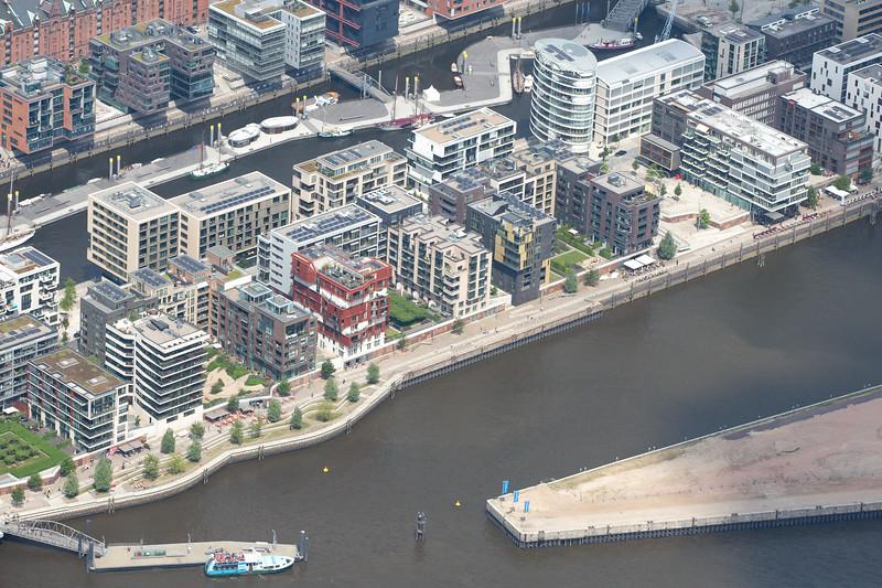 Luftbild HafenCity Hamburg