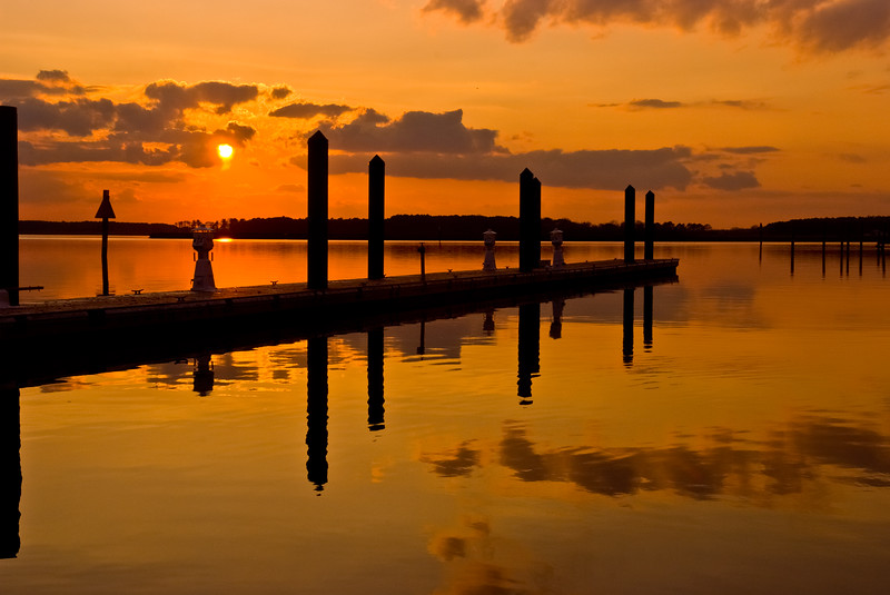 KENT ISLAND SUNSET 2