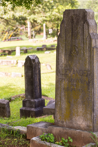South-View Cemetery, founded in 1886, is more than 100 acres south of downtown where race or religion never dictated who could be buried here.  Martin Luther King, Jr was originally buried here and many King family remain.  (Jenni Girtman / Atlanta Event Photography)