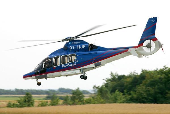 OY-HJP - Eurocopter EC155 B1 Dauphin
