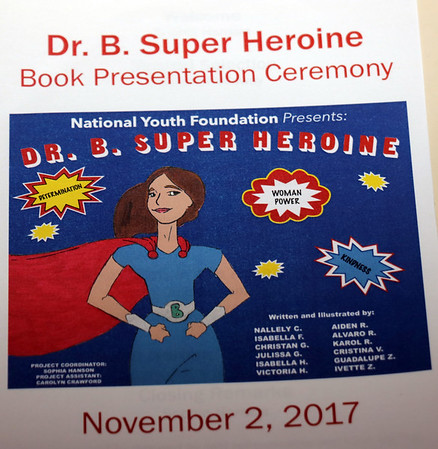 DR.B. SUPER HEROINE PROGRAM - NOV 2,2017