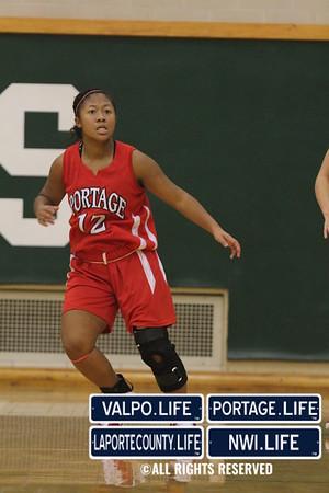 VHS Girls Basketball vs. Portage 2010