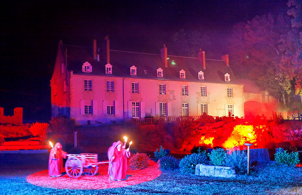 Scenofeerie de Semblancay - Le Chateau