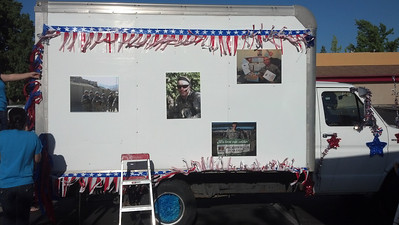 Support 4 Soldiers | Float Decorators
