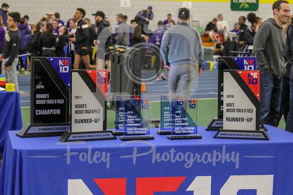 2018 Northeast 10 Indoor Track Championships AWARDS