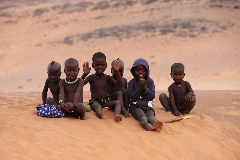 Himba goodbye