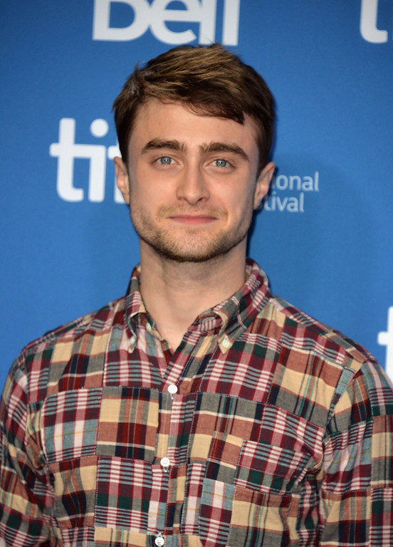 """. Actor Daniel Radcliffe attends \""""The F Word\"""" Press Conference during the 2013 Toronto International Film Festival at TIFF Bell Lightbox on September 8, 2013 in Toronto, Canada.  (Photo by Alberto E. Rodriguez/Getty Images)"""