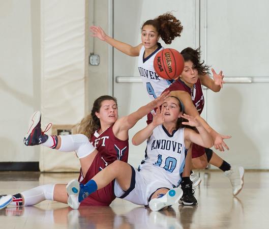 2/17/17: Girls' Varsity basketball v Andover