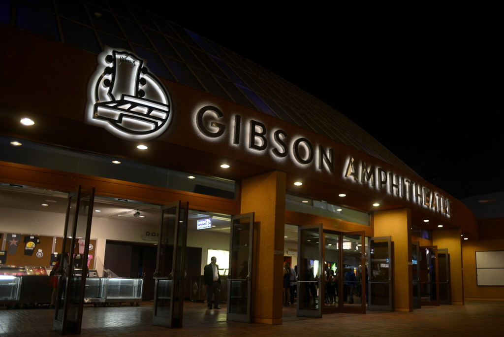 . The Gibson Amphitheatre hosted its last show Friday, Sept. 6, 2013. The event venue will be demolished to make way for the new Wizarding World of Harry Potter attraction at Universal Studios. (Photo by Kelly Goff/Los Angeles Daily News)
