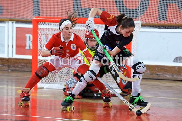Final: SL Benfica vs Gijon HC