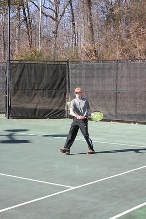 Varsity Tennis Practice