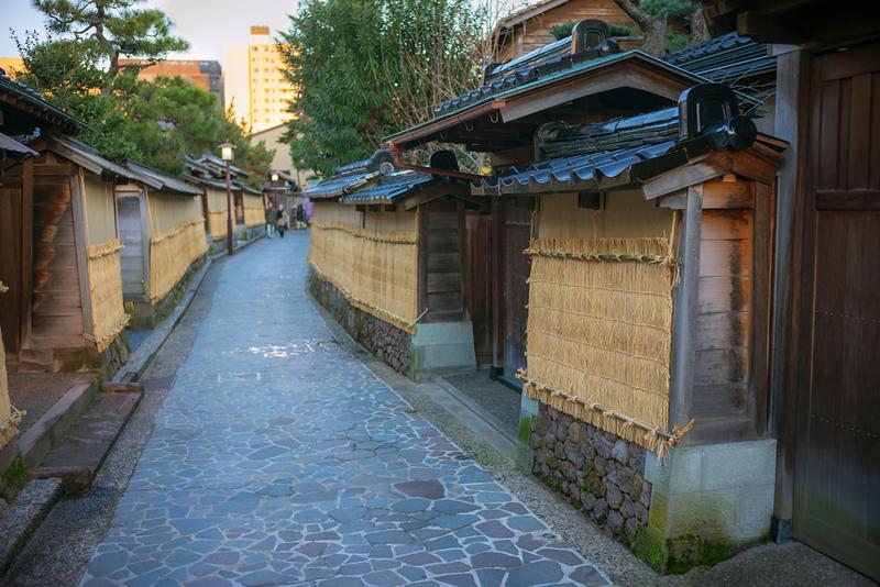 Nagamachi, the former Samurai district in Kanazawa