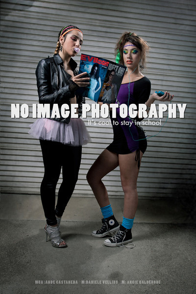 No Image Photography Models: Danielle Velling & Angie Calderone MUA: Ande Castaneda Published in the first issue of Project Oh! Magazine