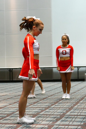 Ohio State All Girl Cheerleaders Columbus 02-23-08