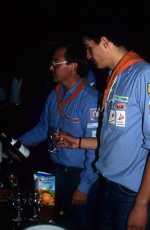 1987-1988 - Activiteit - Kaas & Wijnavond