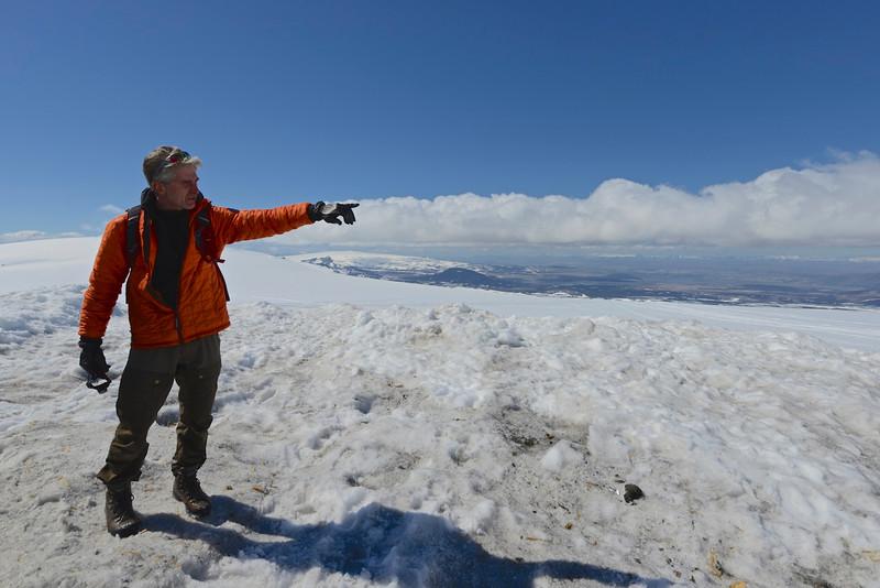 Guide at Into the Glacier (Langejokull)