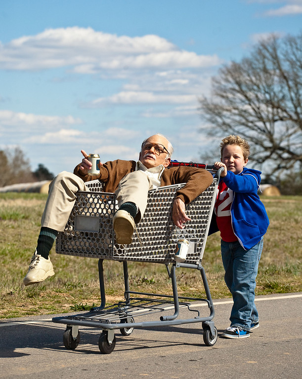 ". 2014 Academy Award Nominee for Best Makeup and Hairstyling: ""Jackass Presents: Bad Grandpa.\"" (AP Photo/Paramount Pictures, Sean Cliver)"