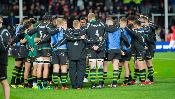 Gloucester Rugby vs Northampton Saints, Premiership Cup, Kingsholm Stadium, 9 November 2018